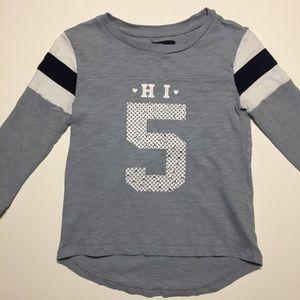 Gap Kids Girls Long Sleeve Cotton Shirt